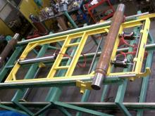 Extendable Railroad Car Axle Rack