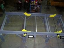 Railroad Car Axle Rack - Single